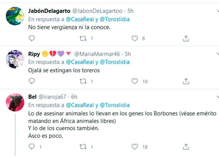 Ataques Twitter, Su Majestad Rey, Felipe VI