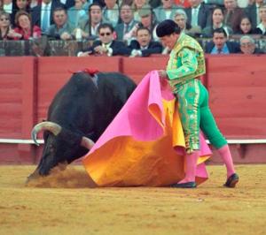 Curro Romero, verónica, La Maestranza, Feria de Abril, Sevilla