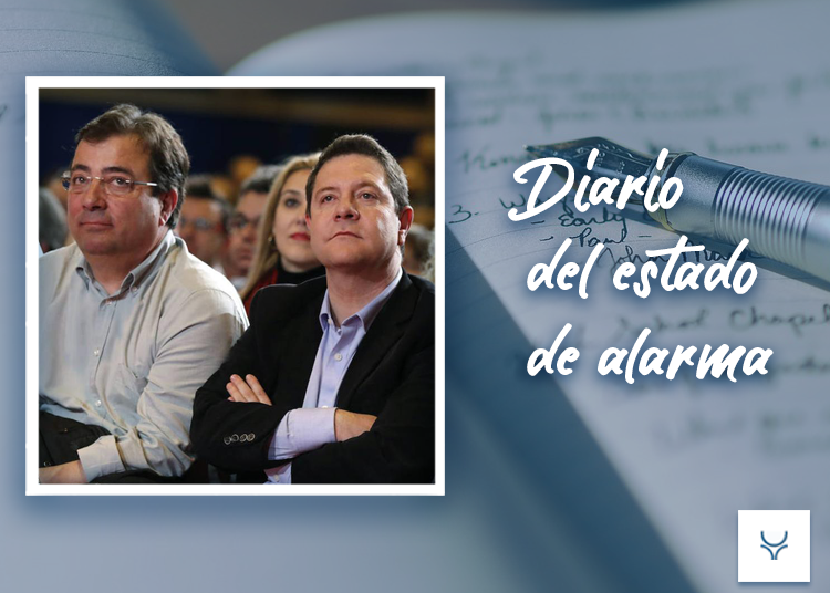 Diario del Estado de Alarma 70, Fernández Vara y García-Page: el PSOE aún existe.