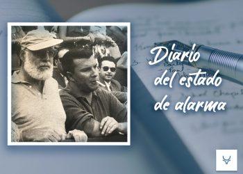 Diario del Estado de Alarma 68, Un torero comunista en la Calle Ferraz