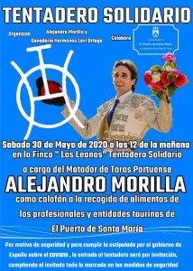 Alejandro Morilla celebrará un tentadero solidario