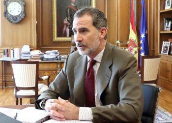 Su Majestad El Rey ha mantenido una reunión telefónica con el presidente de la Unión de Criadores de Toros de Lidia