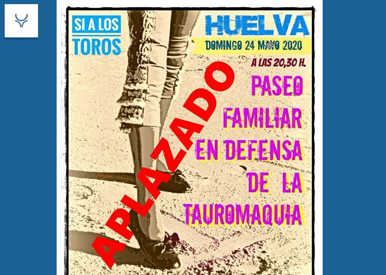 Huelva, Granada y Badajoz aplazan sus 'Paseos'