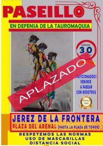 Huelva, Granada, Jerez y Badajoz aplazan sus 'Paseos'