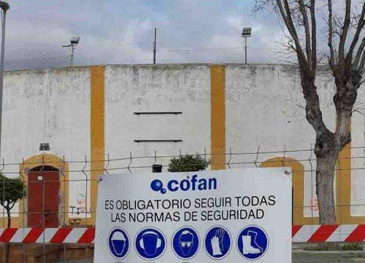 Avanzan con buen ritmo las obras de la plaza de La Línea de la Concepción