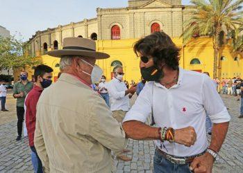 Jerez realiza el primer 'paseíllo' reivindicativo por la Tauromaquia
