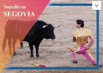 Víctor Barrio a hombros en Segovia