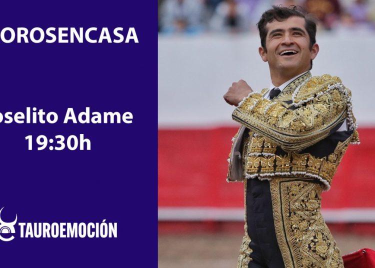 Tauroemoción presentación en facebook live el apoderamiento de Joselito Adame