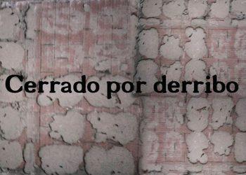 Cerrado por Derribo, editorial