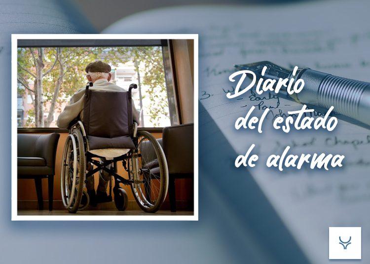 Diario del Estado de Alarma 83, Residencias de perros en casetas de ancianos