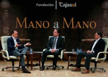Fundación Cajasol, mano a mano, Pepín Liria, José Antonio Camacho