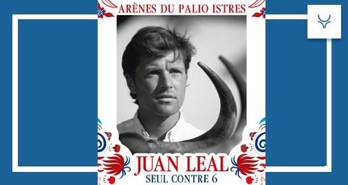 Juan Leal, Palio, Istres, Francia, cartel