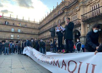 Justo Hernández, Salamanca, Plaza Mayor, paseo taurino