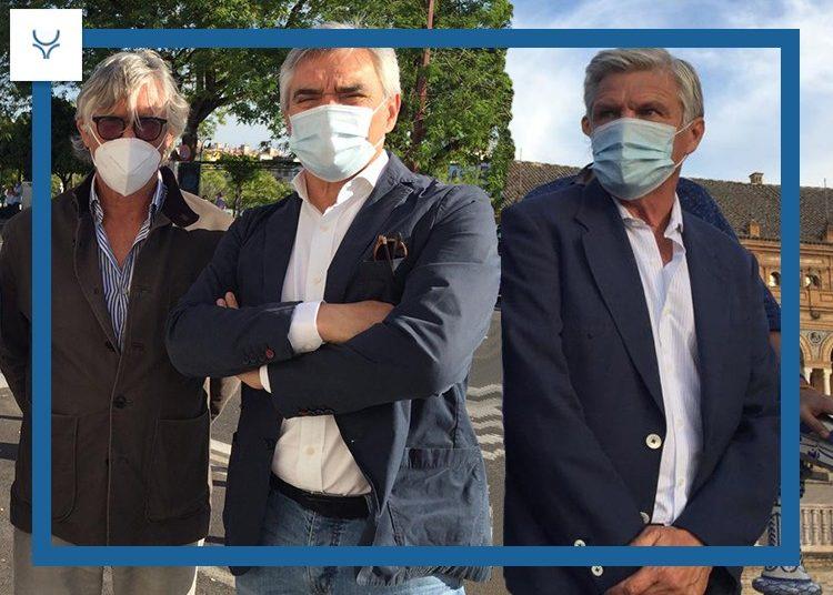 Espartaco, Simón Casas y Pepe Cutiño: 'Les llamamos los hombres de plata pero son los hombres de oro y todos tenemos que estar aquí para apoyarlos'