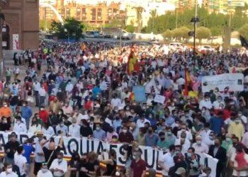 Sigue, en directo, la manifestación taurina de Madrid