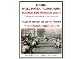 Madrid, Las Ventas, Paseos Taurinos