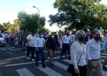 Más de 2.000 personas en la manifestación de Toledo para cerrar un fin de semana histórico