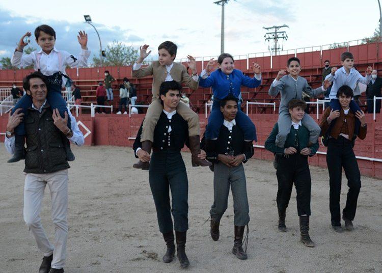 Navas del Rey celebra el primer festejo taurino tras el confinamiento