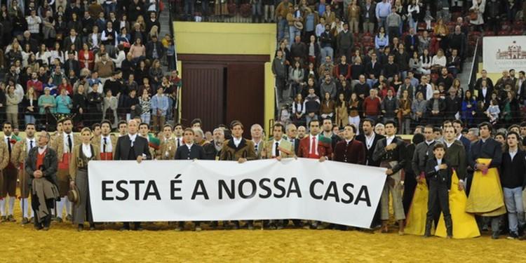 Portugal, Lisboa, manifestación, Campo Pequeno