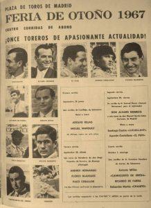 Chanito, cartel, Feria de Otoño