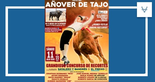 Añover de Tajo, Toledo, recortes, festejos populares