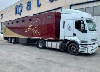 Ana Rita, camión, Portugal