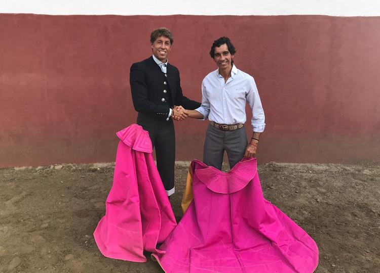 Mano a mano campero de Curro Díaz y Manuel Escribano, en Ana Romero