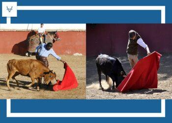 Todo listo para el 'mano a mano campero' entre Curro y Escribano