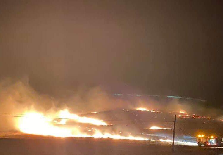 Incendio El Soldao