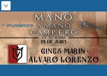 Ginés Marín y Álvaro Lorenzo cierran los 'Mano a Mano Campero'