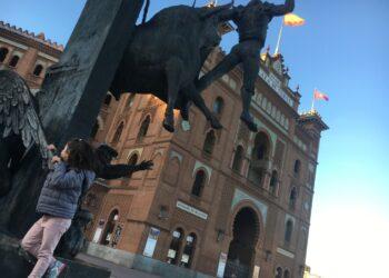 Las Ventas. Monumento a Yiyo. l MARIBEL PÉREZ