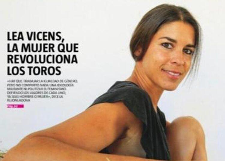 Lea Vicens, portada de La Razón del Verano