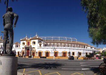 Sevilla, La Maestranza, imagen exterior, fachada, Pepe Luis Vázquez