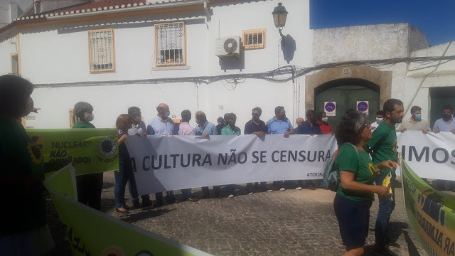 Manifestacion Elvas