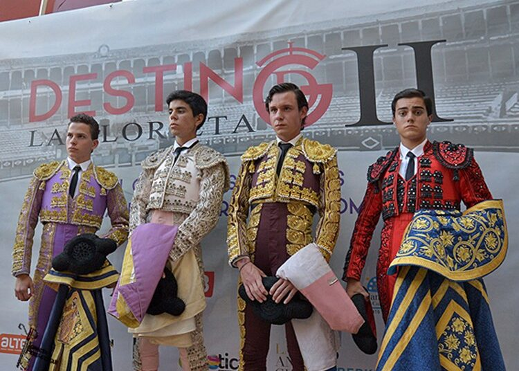 Rubén Núñez, Sergio Sánchez, Eloy Sánchez, Fabio Jiménez, La Glorieta, Salamanca, Destino La Glorieta
