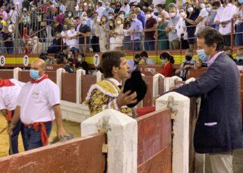 El Juli, brindis, Borja Domecq, Jandilla, Mérida