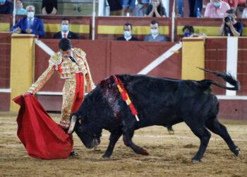 Emilio de Justo: toreo y arrimón