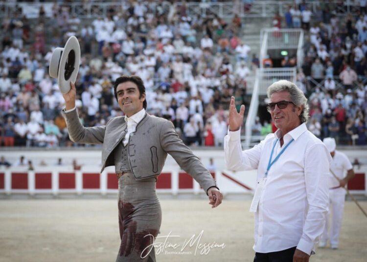 Miguel Ángel Perera, Robert Margé, Beziers, Francia, festival benéfico