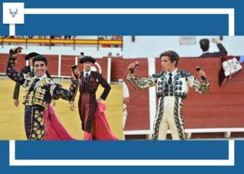 Dos orejas para Carlos Fernández y Eric Olivera, con gran novillada de Martín Carrasco en Navas de San Juan