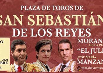 San Sebastián de los Reyes, Sanse, cartel, Morante, El Juli, Manzanares