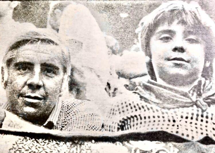 José Antonio Martínez Uranga y su hijo Manuel Martínez Erice