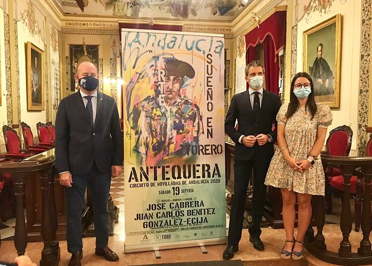 Presentada en Antequera la III novillada del Circuito de Andalucía