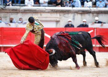 Emilio de Justo, Nimes, Toros de Cortés
