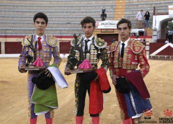 Eric Olivera, ganador de la final en Almendralejo