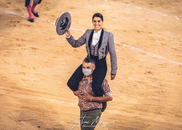 Lea Vicens sigue su contundente racha de triunfos en Nimes