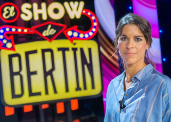 Lea Vicens, protagonista del Show de Bertín Osborne