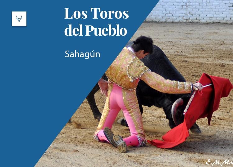 toros del pueblo sahagun