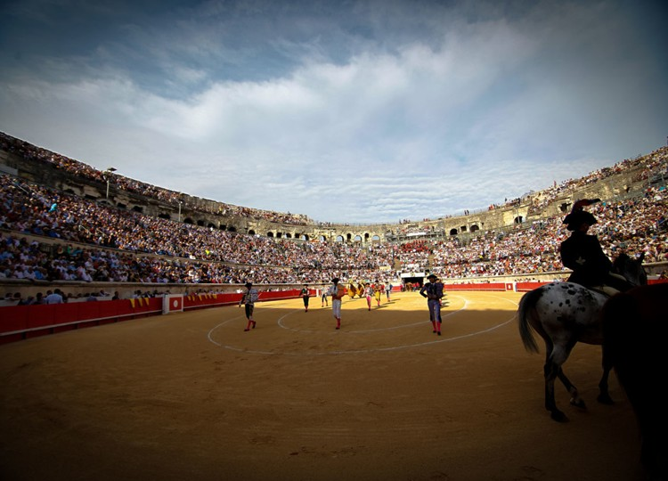Plaza de toros de Nimes