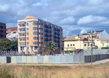 Vila real instala una plaza de toros para realizar festejos taurinos de Bous al Carrer durante un mes