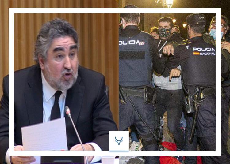 Fuertes protestas a Uribes en Albacete tras sus declaraciones en El Mundo